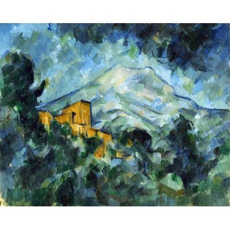 La montaña San Victoria, Cezanne, Algomasquearte