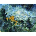 La montaña San Victoria, Cezanne