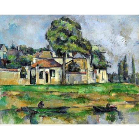 Orillas del Marne, Cezanne, Algomasquearte