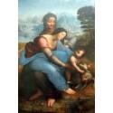 La virgen y el niño con Santa Ana, Da Vinci