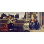 La Anunciación, Da Vinci, Algomasquearte