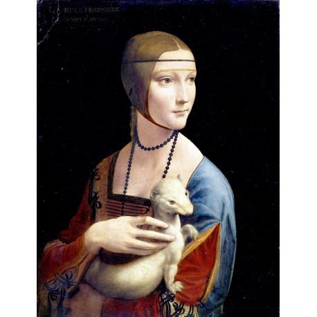 La dama del armiño, Da Vinci, Algomasquearte