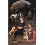 La virgen de las rocas, Da Vinci, Algomasquearte