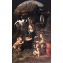 La virgen de las rocas, Da Vinci