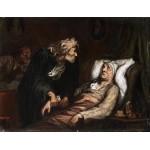 El enfermo imaginario, Daumier, Algomasquearte