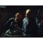 Dos escultores, Daumier, Algomasquearte