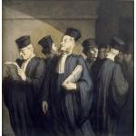Antes de la audiencia, Daumier, Algomasquearte
