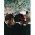 Músicos en la Ópera, Degas