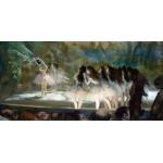 Ballet en la ópera de París, Degas