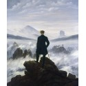 Viajero frente a un mar de nubes, Friedrich