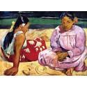 Dos mujeres de Tahiti. Gauguin