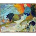 Lavanderas en Arles. Gauguin