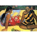 Dos mujeres de Tahiti-2, Gauguin, Algomasquearte