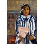 Los ancestros de Tehamana, Gauguin, Algomasquearte