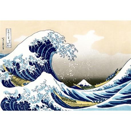 La gran ola, Hokusai, Algomasquearte