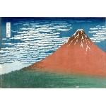 Rojo Fuji, Hokusai