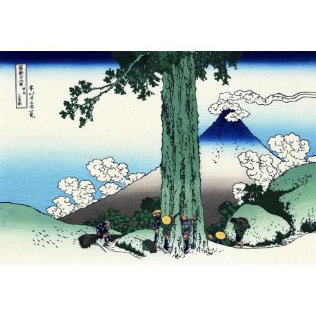Paso de Mishima, Hokusai, Algomasquearte