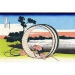Vista campo del Fuji, Hokusai, Algomasquearte