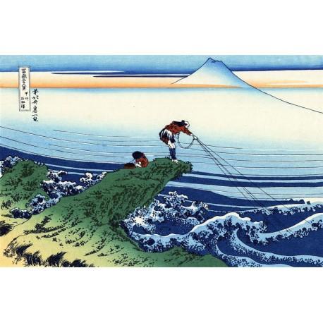 Kajikazawa, Hokusai, Algomasquearte