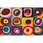 Farbstudie, Kandinsky, Algomasquearte