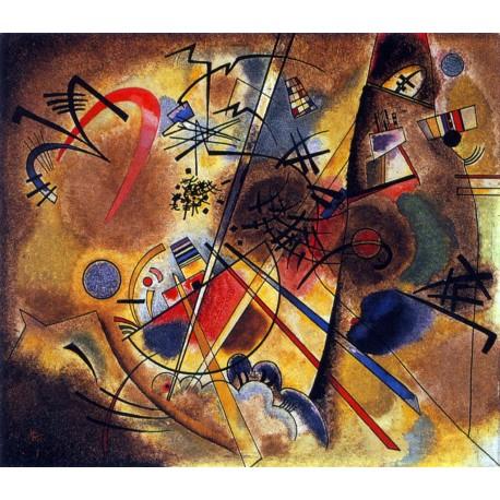Pequeño sueño en Rojo, Kandinsky, Algomasquearte