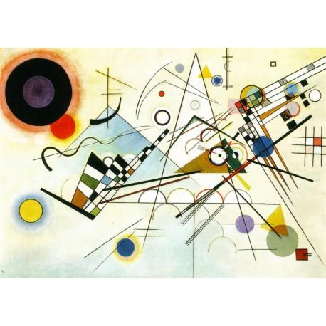 Composición VIII, Kandinsky, Algomasquearte