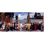 La Virgen Cimabue llevada en procesión, Leighton, Algomasquearte