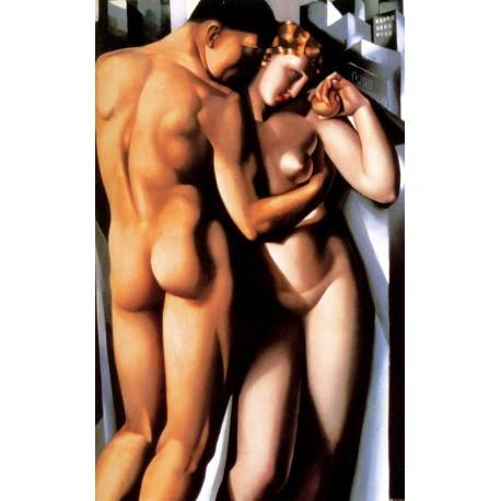Adam y Eva, Lempicka, Algomasquearte