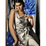 Retrato de la Sra. M., Lempicka, Algomasquearte