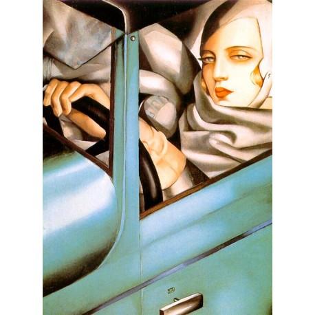 Autorretrato en Bugatti, Lempicka, Algomasquearte