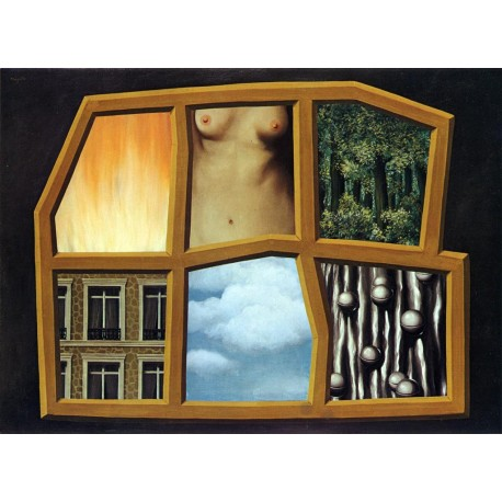 Los seis elementos, Magritte, Algomasquearte