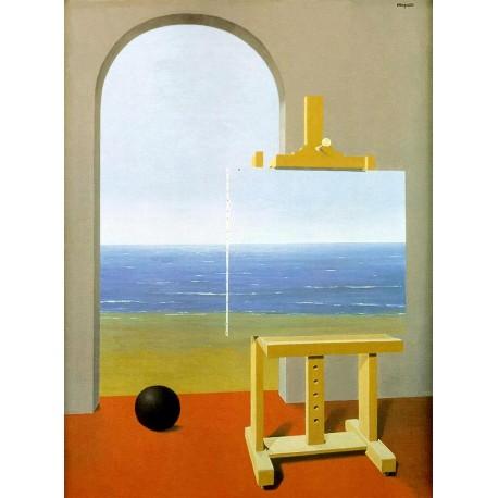 Condicción humana, Magritte, Algomasquearte