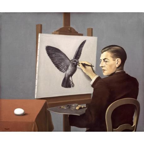 Clarividencia, Magritte, Algomasquearte