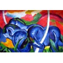 Grandes caballos azules, Marc