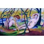 Desnudos bajo los árboles, Marc, Algomasquearte