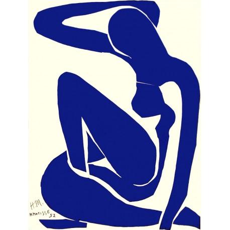 Blue Nude I, Matisse, Algomasquearte