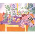 Naturaleza muerta con mujer, Matisse