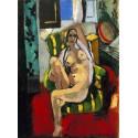 Odalisca con pandereta, Matisse