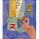 Peces de colores y escultura, Matisse