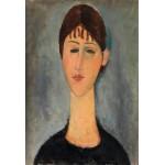 Retrato de Mme Zborowski, Modigliani, Algomasquearte