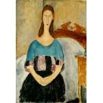 Retrato de Jeanne Hebuterne, Modigliani, Algomasquearte