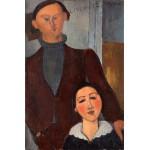 Jacques y Berthe Lipchitz, Modigliani, Algomasquearte
