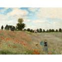 Campo de amapolas, Monet
