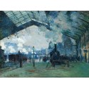 Llegada Tren Normandía, Monet