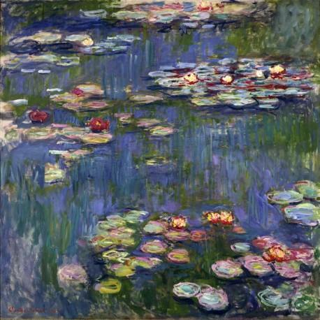 Nenúfares, Monet, Algomasquearte