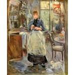 En el comedor, Morisot, Algomasquearte
