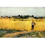 Entre el trigo, Morisot, Algomasquearte