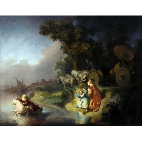 Rembrandt Rapto de Europa Algomasquearte