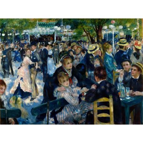 Renoir Baile en el Moulin de la Galette Algomasquearte