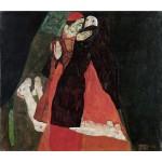 Schiele El cardenal y la monja (Caricia) Algomasquearte
